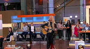 Fancy im ZDF Morgenmagazin